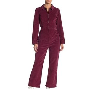 NWT. Free People Take Me Out Jumpsuit Size 8